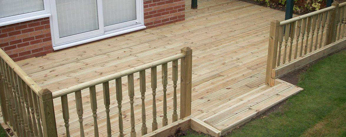 Raised Decks and Ballustrade