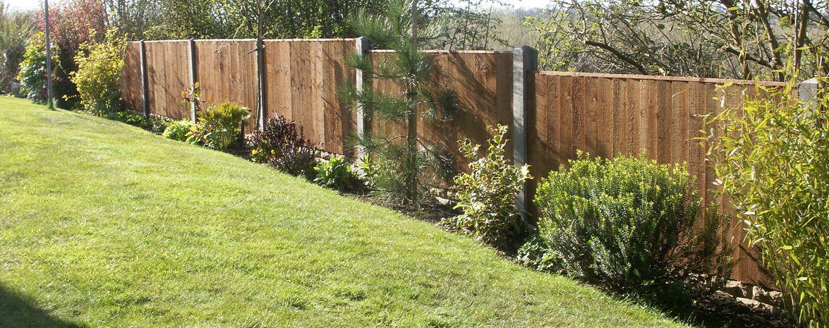 Timber and Concrete Fencing